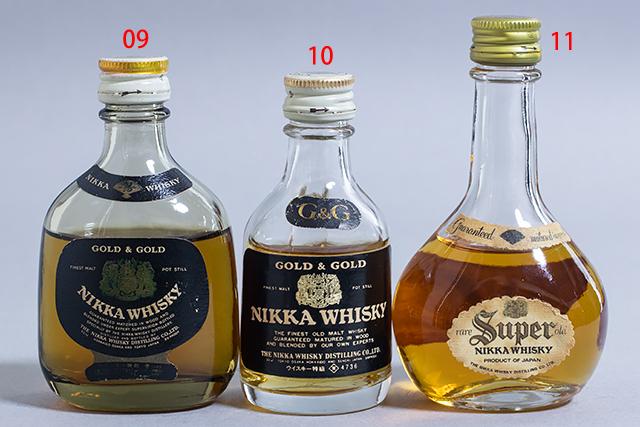 未開栓,古酒,NIKKA,ニッカ,ウイスキー,ミニチュアボトル,11本セット,The Blend of Nikka Selection-06