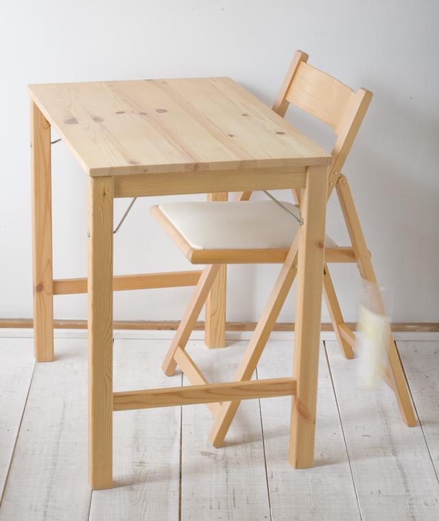 無印良品の「パイン材テーブル」