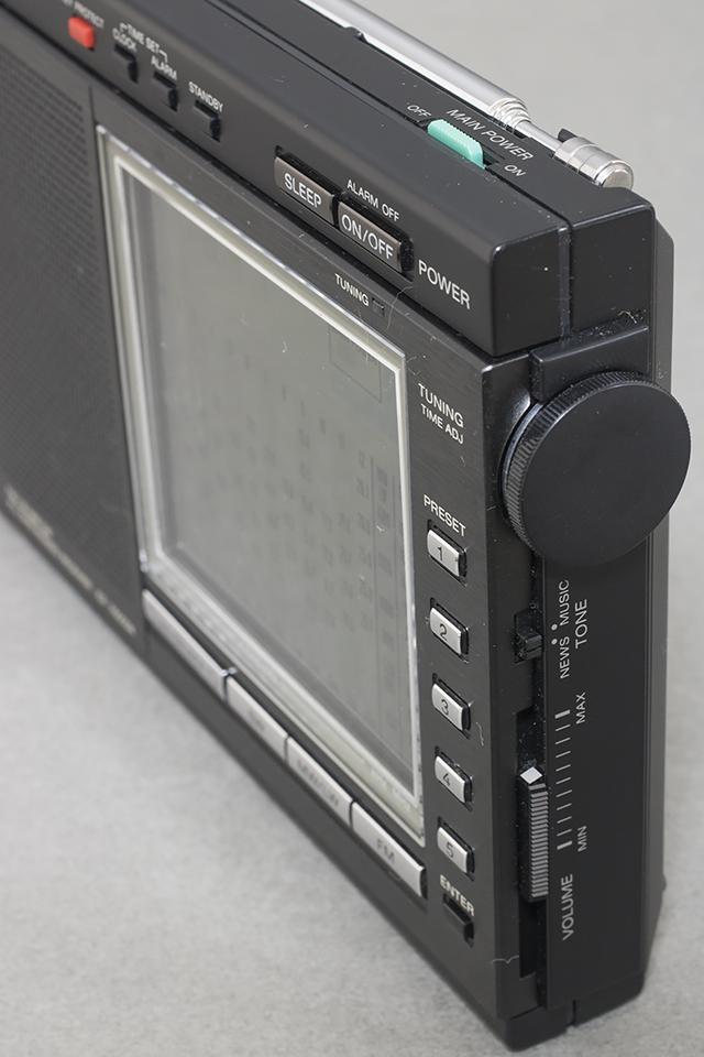 中古品,SONY,ソニー,15バンドラジオ,ICF-7600DA,PLLシンセサイザーレシーバー,FM,LW,MW,SW,短波,BCL,液晶ダイヤル-03